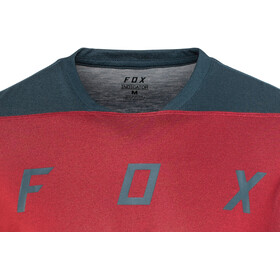 Fox Indicator Mash Camo Bike Jersey Longsleeve Men red